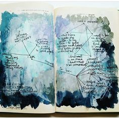 We can never get enough of these constellations! So beautiful @stitchandletter #getmessyartjournal