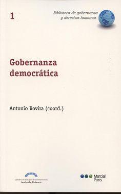 Gobernanza democrática.  Marcial Pons, 2013.