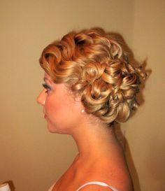 Formal hair, wedding hair, hair