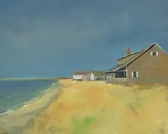 Ann Packard - At the Beach by Layla