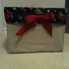 Covered Diaper Box