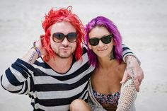 The Coolest Beach Beauty From Hangout Fest
