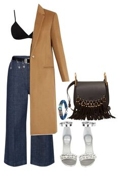 """""""Untitled #1198"""" by gabbyriera on Polyvore featuring Whistles, Helmut Lang, Versace, Givenchy, Joseph, Chloé and Platadepalo"""