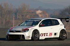 Volkswagen GTI road racer.