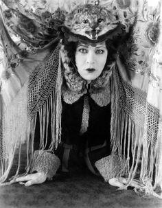 A Dolls House, Alla Nazimova, In A Cat Photograph