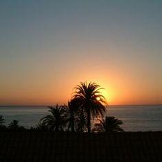 Sonnenaufgang im Dezember auf El Cabrito - La Gomera