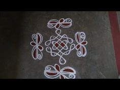 Free Hand Rangoli Design, Rangoli Border Designs, Rangoli Designs With Dots, Rangoli With Dots, Beautiful Rangoli Designs, Kolam Designs, Dot Rangoli, Rangoli Borders, Small Rangoli