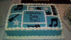 rock and roll baby shower cakes - Google Search