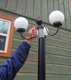 Make Your Own Diy Solar Light Post Lights For Your Outdoor