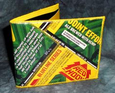 BiFold Wallet from Recycled Redhook/Hilliard's Joint Effort beer labels by squigglechick, $30.00