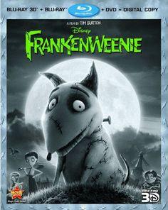 Blu-ray Review: Frankenweenie (Four-Disc Combo: Blu-ray 3D/Blu-ray/DVD + Digital Copy)