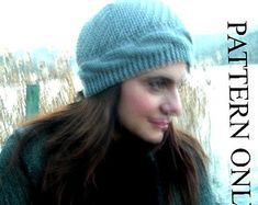 This item is unavailable Casting On Stitches, Knitting Stitches, Hand Knitting, Knitting Patterns, Popular Hats, Hats For Women, Women Hat, Cable Knit Hat, Bind Off
