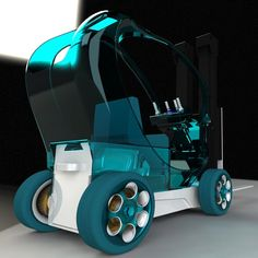 Guess there will be #forklift trucks in our future!