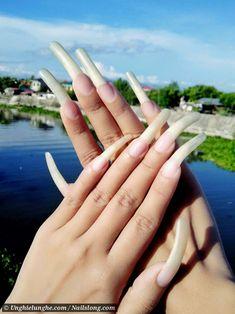Summer Acrylic Nails, Acrylic Nail Art, Glitter Nail Art, Crystal Texture, Curved Nails, Long Natural Nails, Long Fingernails, Long Nail Designs, Exotic Nails