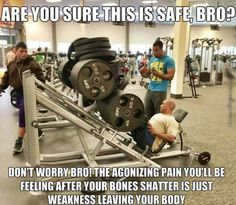 You're gymming it wrong (20 photos)