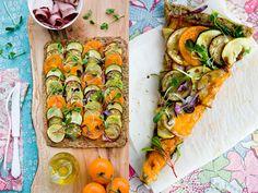 Market Mediterranean Pizza, Paleo-Style ☺. ☺. ☻  ☻