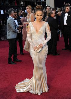 Jennifer Lopez | The 20 Most Revealing Oscar Dresses Ever