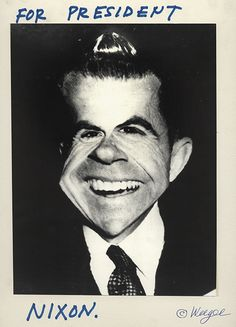 Weegee's October Surprise (part 3): For President  via Fans in a Flashbulb—the ICP Collections blog