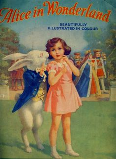 Alice in Wonderland. Year: #1946. Country: #UK. Illustrations: A. A. Nash .
