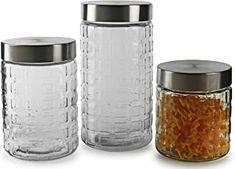 Amazon.com: coffee tea sugar container set Sugar Container, Dining Room Furniture, Tea, Coffee, Amazon, Kaffee, Amazons, Dining Sets, Riding Habit
