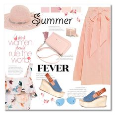 """summer fever"" by limass ❤ liked on Polyvore featuring New Look, Lisa Marie Fernandez, Pedder Red, BCBGeneration, L'Occitane and Revo"