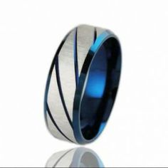 Men's Stainless Titanium Steel Blue Superman Ring ★This item qualifies for free US shipping★ Details: Item Type:Rings Rings Type:Wedding Bands Style:Trendy Material:Crystal Metals Type:Stainless Steel Delivery: Currently on back order of days Trendy Jewelry, Cheap Jewelry, Fashion Jewelry, Jewellery Uk, Superman Ring, Classic Men, Titanium Rings For Men, Golden Ring, Blue Rings