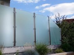 Entzuckend Glas Edelstahl Sichtschutz Feng Bis 2.000 Mm Höhe