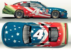 The National Watermelon Association & Ross Chastain Debut Patriotic Car At Daytona