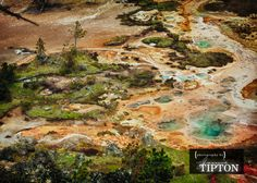 Artist's Paint Pots, Yellowstone National Park.  Photography by Jamie Tipton