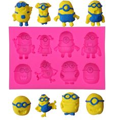 Various Minions Silicone Mold