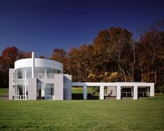 Grotta House, Harding Township NJ (1984-89) | Richard Meier & Partners Architects