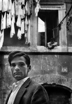 Pier, Paolo Pasolini, Rome, 1949, Herbert List