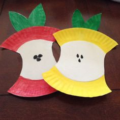Apples we made for lesson on the fruits of the Spirit.