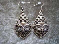 Owl Earrings by Brendas Beading on Etsy by BrendasBeading on Etsy, $9.95