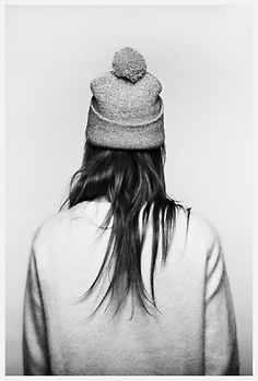 I want that hat. and that hair. and that sweater.