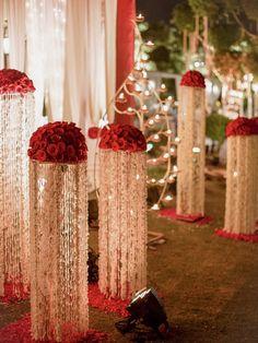 Decor Indian decor flower decoration roses decoration indian wedding d Wedding Decorations Pictures, Wedding Hall Decorations, Marriage Decoration, Wedding Entrance, Entrance Decor, Desi Wedding Decor, Wedding Stage Design, Wedding Mandap, Wedding Bride
