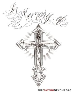 Tattoo Demon - Tattoo Flash_show. Cool Cross Tattoos, Cross Tattoo For Men, Cross Tattoo Designs, Tattoo Designs Men, Awesome Tattoos, Biblical Tattoos, Religious Tattoos, Demon Tattoo, Tattoo Now