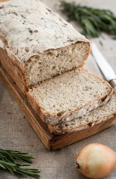 Well it was for the bread! / Cooks, because he likes gorgeous recipe for sourdough bread Bread Recipes, Baking Recipes, Our Daily Bread, Polish Recipes, Sourdough Bread, How To Make Bread, Health And Nutrition, Baked Goods, Banana Bread