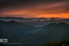 The story of the night by ZekiSeferoglu  Nikon Trabzon above city cloud ocean clouds fog fog ocean haze la longexposure malibu mountain mount