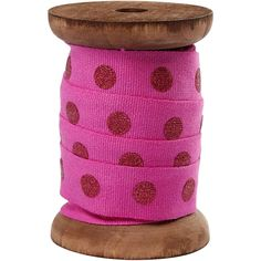 This pink polka dot ribbon is supplied on a beautiful vintage style spool, it is in width and each reel contains 3 metres of ribbon. Ribbon Storage, Pink Polka Dots, Tool Set, Craft Items, Different Styles, Vintage Fashion, Vintage Style, Chevron, Little Girls