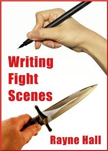 WRITING FIGHT SCENES by Rayne Hall 	Learn step-by-step how to create fictional fights which leave the reader breathless with excitement.  	The book gives you a six-part structure to use as blueprint for your scene. It…  read more at Kobo.