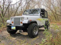 My 1993 Jeep Wrangler YJ