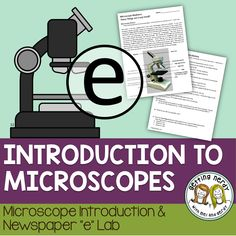 Microscope Lab {FREE} How do you view specimens under a microscope? Our cell Microscope usage lab will tell you!