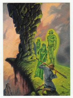 Darrell K. Sweet Cards # 35 Screaming - FPG - 1994
