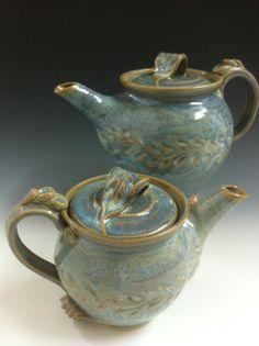 Teapot/  Théière  Poterie Monique Duclos Pottery