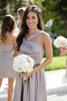 Love this bridesmaid dress...  Style Me Pretty | Gallery | Picture | #673792