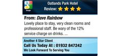 Lovely place to stay,  very clean rooms and professional staff.   Be wary of the 12%...