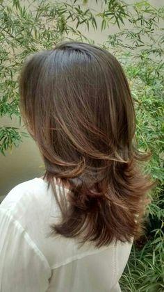 Ombre Hair e corte / por Evelin Sales Cordeiro