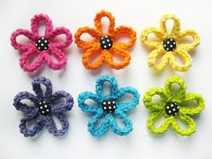 PATTERN-Crochet Loopy Flower-Detailed Photos von EverLaughter