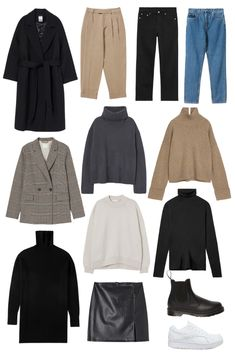 Paris Outfits, Winter Fashion Outfits, Girly Outfits, Capsule Wardrobe Casual, Outfit Invierno, Fashion Capsule, Minimal Fashion, Aesthetic Clothes, Dressing